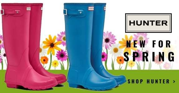 Hunter Wellies - New Colours for Spring