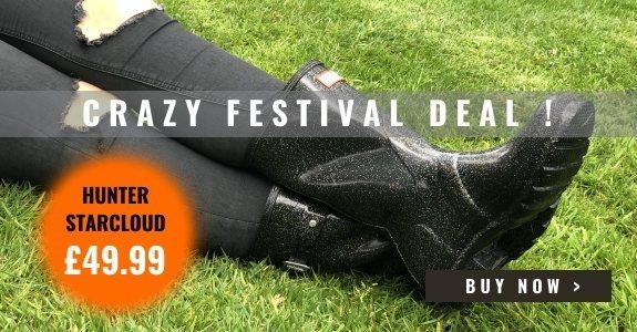 Crazy Festival Deal - Hunter Starcloud Wellies