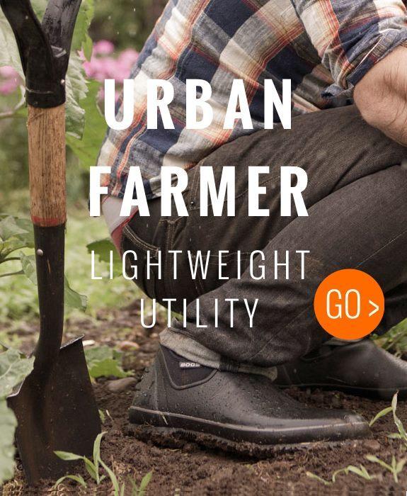 Bogs Urban Farmer ligthweight waterproof utility shoe