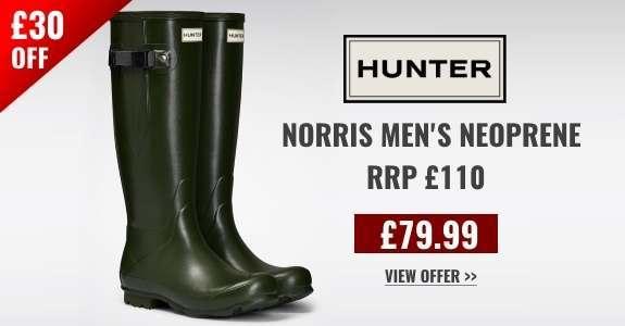 Special Offer Hunter Men's Norris Neoprene