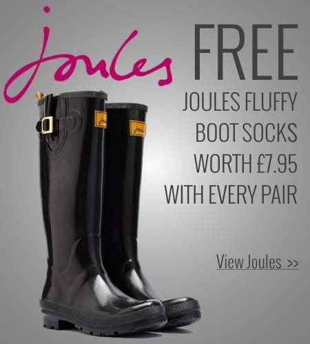 Free gift with Joules Wellies