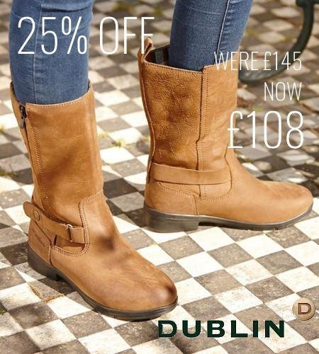 25% off Dublin Cherwell Mid Boots