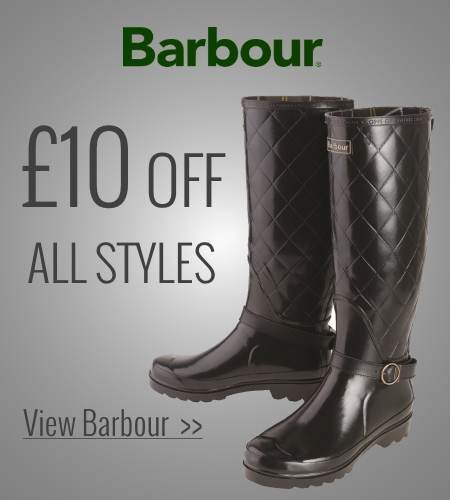 £10 off Barbour Wellies