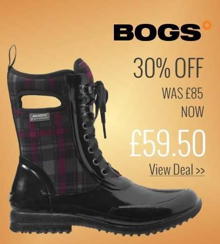 30% off Bogs Sidney Lace