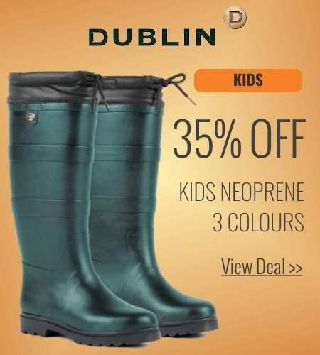 Save on Kids Dublin wellies