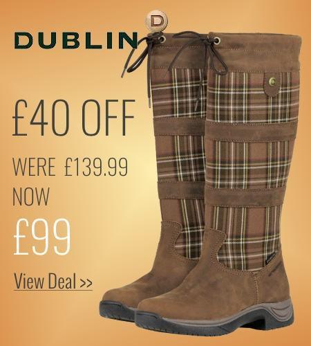 £40 off Dublin River Plaid Boots