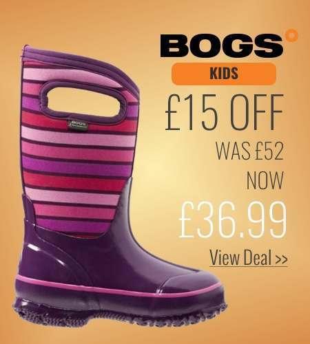 £15 off Bogs Kids