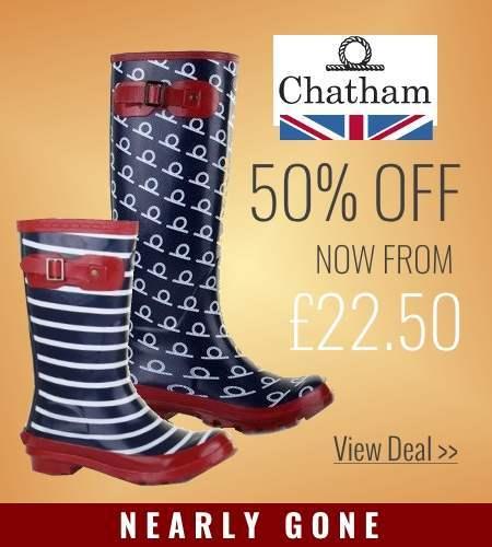 Half price Chatham wellies
