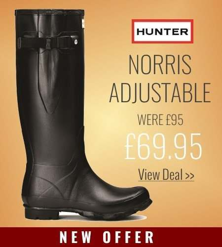 New offer on Hunter Wellies