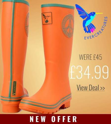 New offer on Evercreatures Celtic Peace Wellies