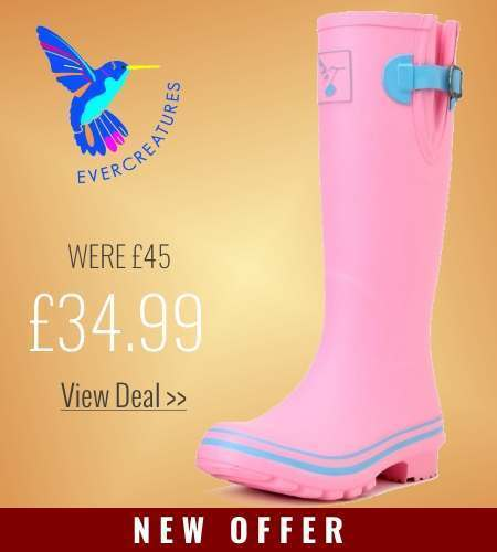 New offer on Evercreatures Pink Wellies