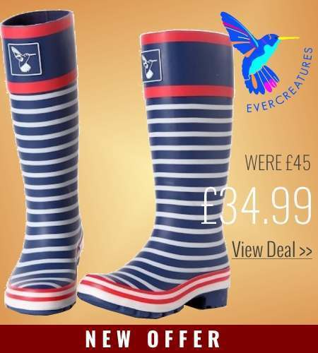 Save on Evercreatures wellies