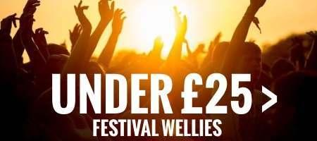 Festival wellies under £25