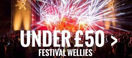 Festival wellies under £50