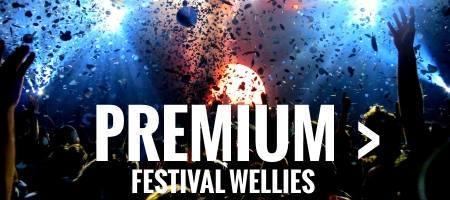 Premium festival wellies