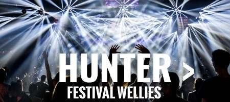Hunter festival wellies