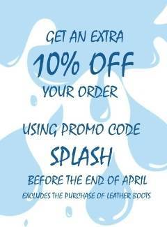 Get an extra 10% off any order using order code SPLASH before the end of April