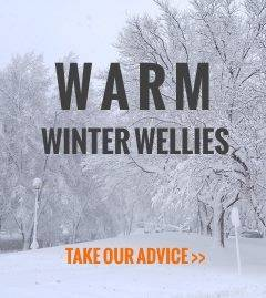 Warm winter wellies - take our advice