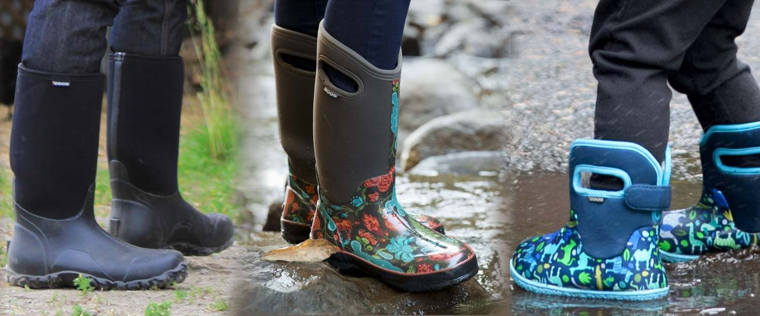 Bogs wellies and boots